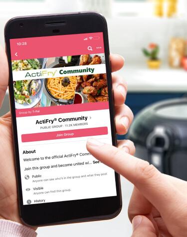 Actifry Facebook Community Link